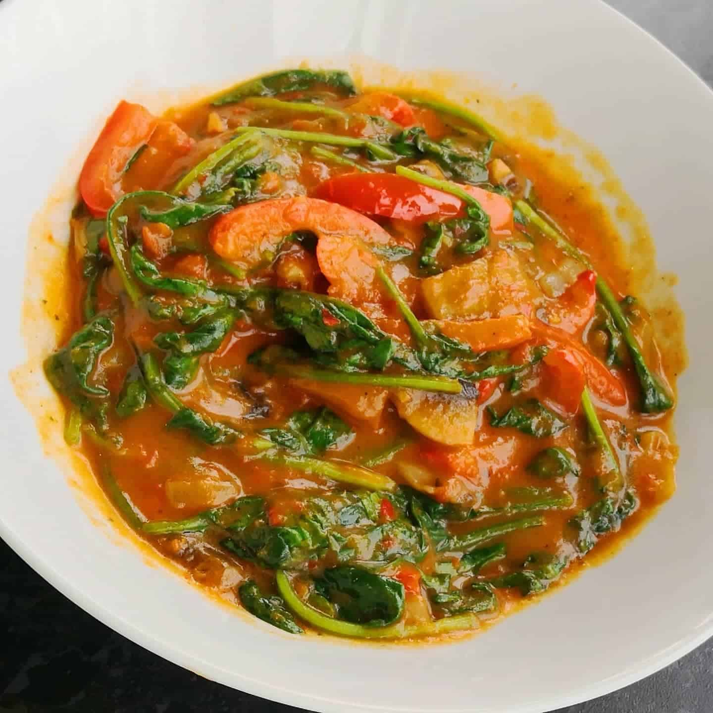 A photo of efo riro stew